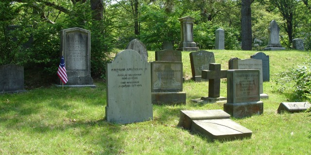 Headstones, Atkinson Lot